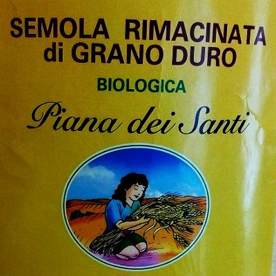Semola rimacinata di grano duro Senatore Cappelli Bio Piana dei Santi 5700a3815243